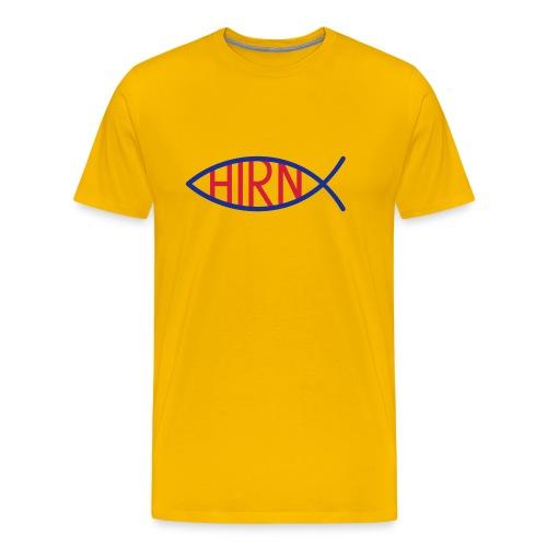 Hirnfich T-Hemd 2012 Micheal Scherag Edition - Männer Premium T-Shirt