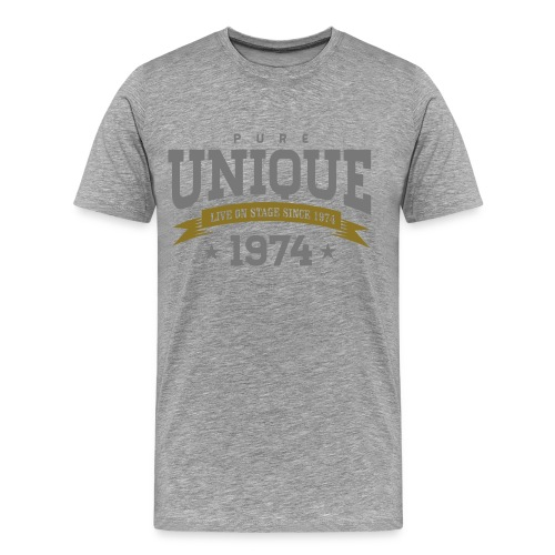 UNIQUE MAN SHIRT (1974) - Männer Premium T-Shirt