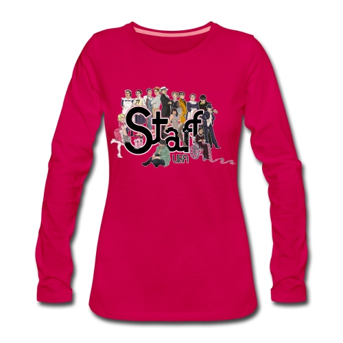 Camiseta mujer manga larga - Camiseta de manga larga premium mujer