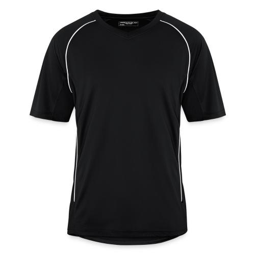 Tränings T-Shirt utan tryck. Svart - Fotbollströja herr