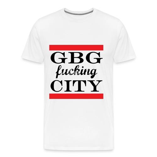 GBG fucking City - Men's Premium T-Shirt