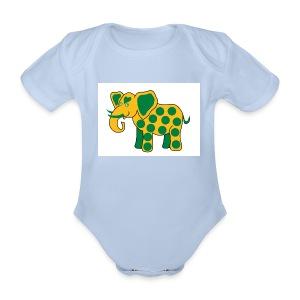 burn-in-fashion - Baby Bio-Kurzarm-Body