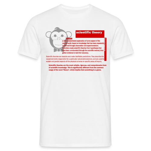 Scientific Theory SA - Men's T-Shirt