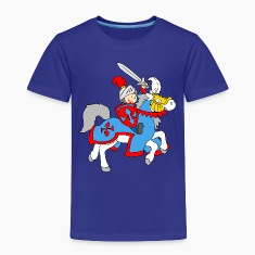 Boy Knight on a Horse Shirts
