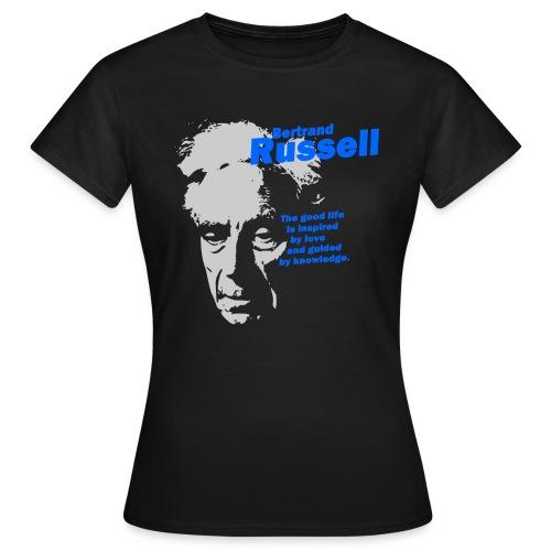 The Good Life - Bertrand Russell - Women's T-Shirt
