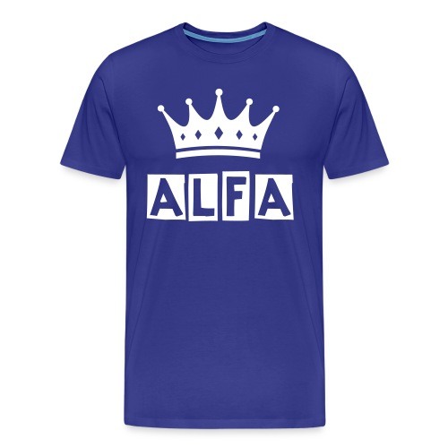 Official Alfa T-Shirt - Men's Premium T-Shirt