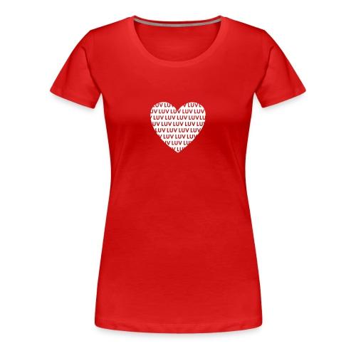LUV Dirndl klassisch - Frauen Premium T-Shirt