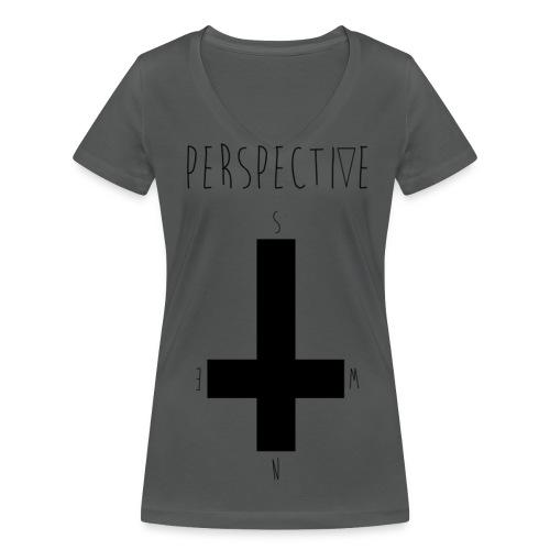 Ladies Classic T' - Ekologisk T-shirt med V-ringning dam från Stanley & Stella