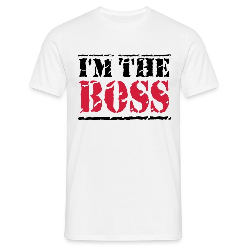 I'M THE BOSS - T-shirt Homme