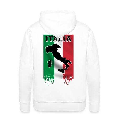 PULL ITALIE - Sweat-shirt à capuche Premium pour hommes