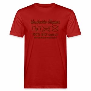 Waschechter Allgäuer, Allgäu, Bio, lustig, Spruch - Männer Bio-T-Shirt