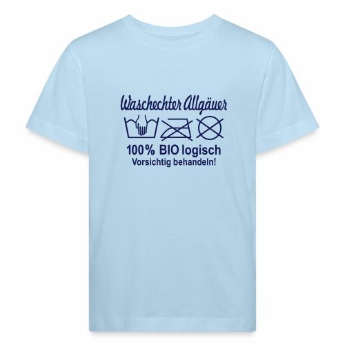 Waschechter Allgäuer, Allgäu, Bio, lustig, Spruch - Kinder Bio-T-Shirt