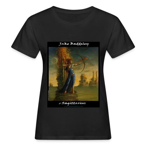 Jake Baddeley - Sagittarius (black) - Women's Organic T-Shirt
