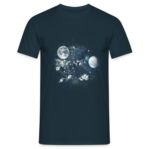 Gallactica T-Shirt - Men's T-Shirt