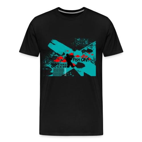 Men's River Monsters Do Exist T-Shirt - Men's Premium T-Shirt