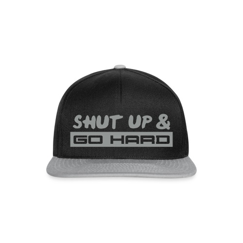 Go Hard - Snapback cap