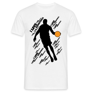 I LOVE BASKETBALL Tee shirts - T-shirt Homme