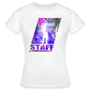 T SHIRT STAFF by Florian VIRIOT  - T-shirt Femme
