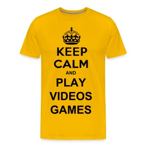 Play Videos Games - T-shirt Premium Homme