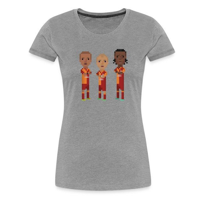 Women T-Shirt - Gala trio