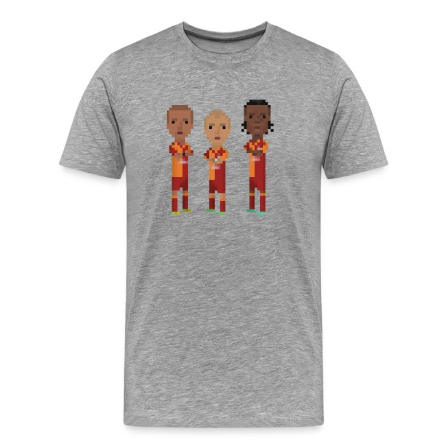 Men T-Shirt - Gala trio