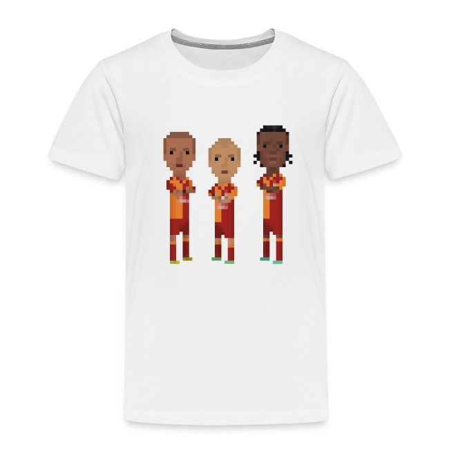 Kids T-Shirt - Gala trio