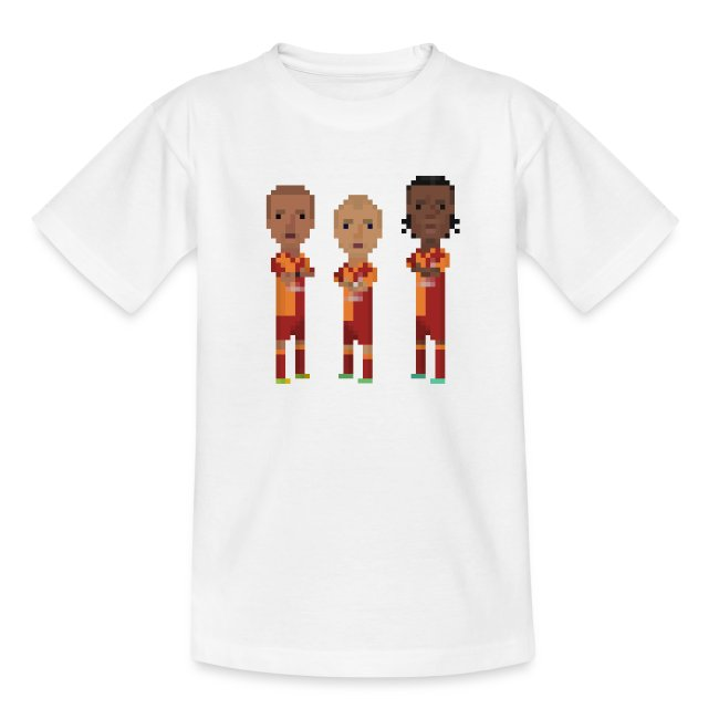 Teen T-Shirt - Gala trio