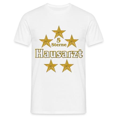 5 Sterne Hausarzt T-Shirt - Männer T-Shirt