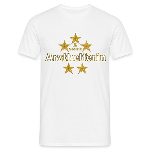 5 Sterne Arzthelferin T-Shirt - Männer T-Shirt