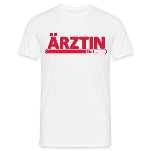 Ärztin lädt... T-Shirt - Männer T-Shirt
