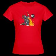 T-Shirts ~ Women's T-Shirt ~ Suff Crew Caricature T-Shirt Girls