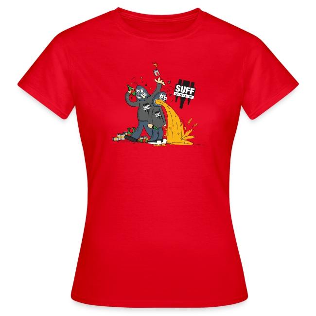 Suff Crew Caricature T-Shirt Girls