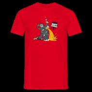 T-Shirts ~ Men's T-Shirt ~ Suff Crew Caricature T-Shirt