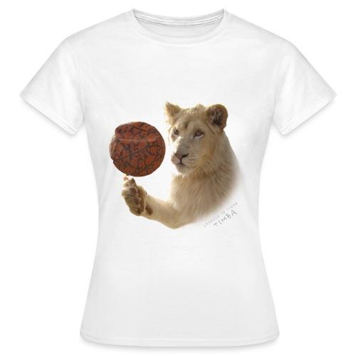 T-Shirt Femme Timba ballon - T-shirt Femme