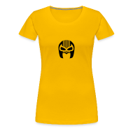T-Shirts ~ Women's Premium T-Shirt ~ Snuff Crew Mask T-Shirt Standard yellow Girls