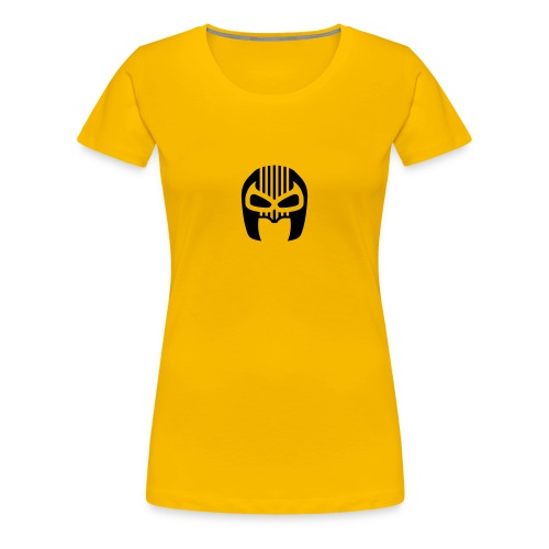 Snuff Crew Mask T-Shirt Standard yellow Girls - Women's Premium T-Shirt