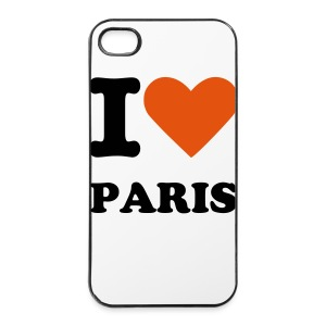 I LOVE PARIS - Coque rigide iPhone 4/4s