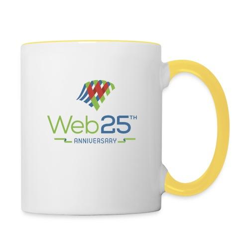 web25_mug_2 - Contrasting Mug