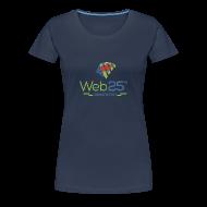 T-Shirts ~ Women's Premium T-Shirt ~ web25_women_blue_shirt