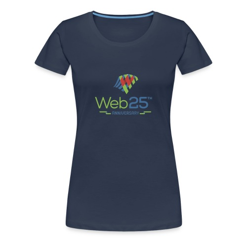 web25_women_blue_shirt - Women's Premium T-Shirt