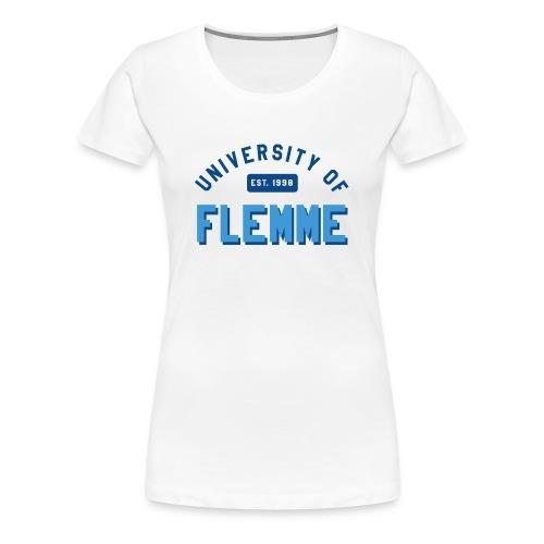 Tshirt University of Flemme femme - T-shirt Premium Femme