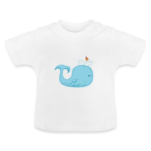 La Baleine bleue - T-shirt Bébé