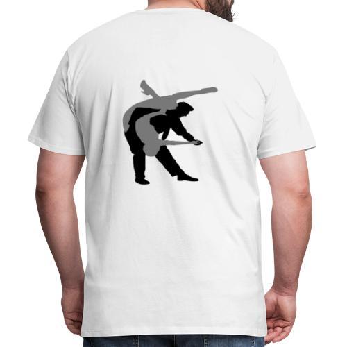 Swing rock - back - T-shirt Premium Homme