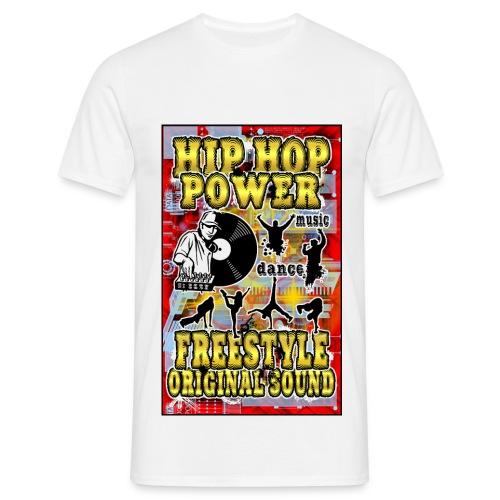 hip hop power - Men's T-Shirt