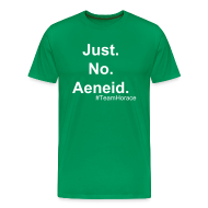 T-Shirts ~ Men's Premium T-Shirt ~ Just No Aeneid. M