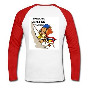 CTV_CTNL shirt digital transfer - Mannen baseballshirt lange mouw