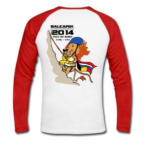 CTV_CTNL shirt digital direct - Mannen baseballshirt lange mouw