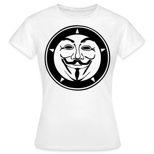 Anonymous logo cercle - T-shirt Femme
