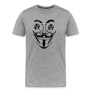 Anonymous oeil anarchy - T-shirt Premium Homme