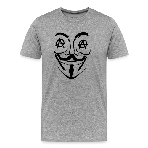 Anonymous oeil anarchy - T-shirt Premium Homme